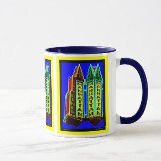 ニューヨークシティマンハッタンのダイナーのマグ マグカップ