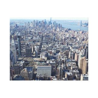 ニューヨークシティ キャンバスプリント