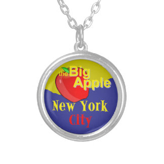 ニューヨークシティ シルバープレートネックレス