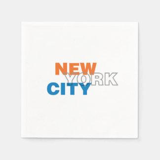 ニューヨークシティ、ニューヨークの紙ナプキン スタンダードカクテルナプキン