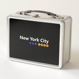 ニューヨークシティ、ニューヨークの金属のお弁当箱 メタルランチボックス