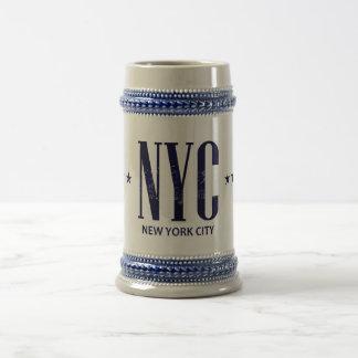 ニューヨークシティ ビールジョッキ