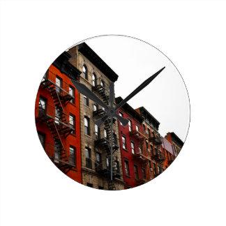 ニューヨークシティ ラウンド壁時計