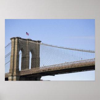 ニューヨークシティ、新しい2のブルックリン橋 ポスター