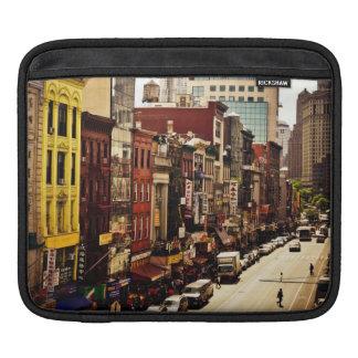 ニューヨークシティ-都市密度 iPadスリーブ