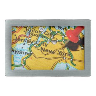 ニューヨークシティ 長方形ベルトバックル