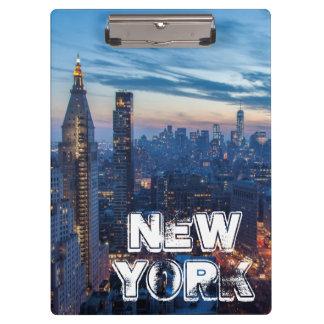 ニューヨークシティ、NY、米国 クリップボード