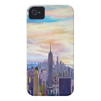 ニューヨークシティManhattaのスカイライン Case-Mate iPhone 4 ケース