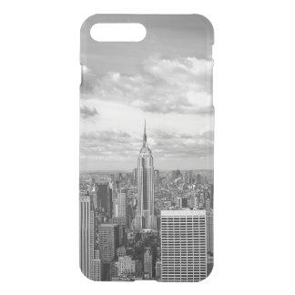 ニューヨークシティNY NYCのスカイラインのwanderlust旅行 iPhone 8 Plus/7 Plus ケース