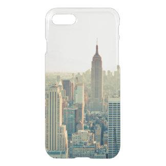 ニューヨークシティNY NYCのスカイライン旅行wanderlust iPhone 8/7 ケース