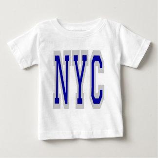 ニューヨークシティNYCのデザイン2 ベビーTシャツ