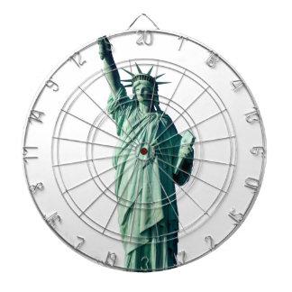 ニューヨークシティNYC自由の女神 ダーツボード