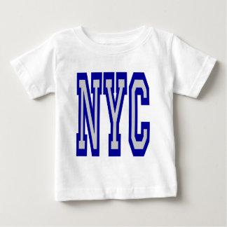 ニューヨークシティNYC 1のデザイン ベビーTシャツ