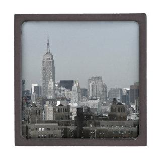 ニューヨークスカイラインおよびブルックリン ギフトボックス