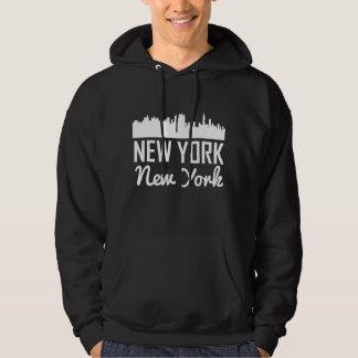 ニューヨークニューヨークのスカイライン パーカ