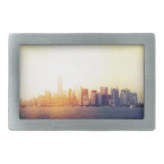 ニューヨークニューヨーク 長方形ベルトバックル