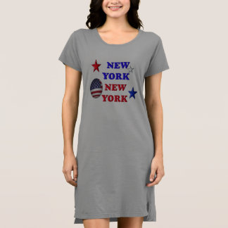 ニューヨークニューヨーク- Tシャツの服 ドレス