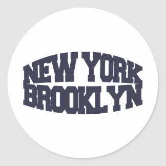 ニューヨークブルックリン ラウンドシール