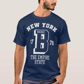 ニューヨークブロンクスの男性Tシャツ Tシャツ