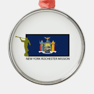 ニューヨークロチェスターの代表団LDS CTR メタルオーナメント