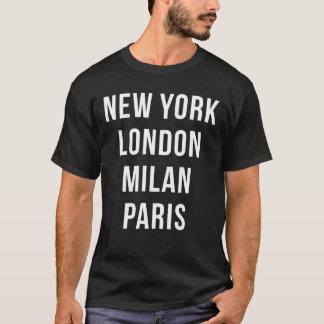 ニューヨークロンドンミラノパリのTシャツ Tシャツ