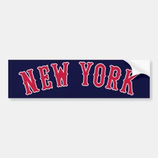 ニューヨーク対ボストン競争相手 バンパーステッカー