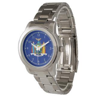 ニューヨーク州の旗の腕時計のデザイン 腕時計