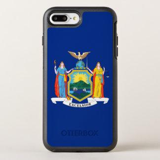 ニューヨーク州の旗 オッターボックスシンメトリーiPhone 8 PLUS/7 PLUSケース