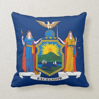 ニューヨーク州の旗 クッション