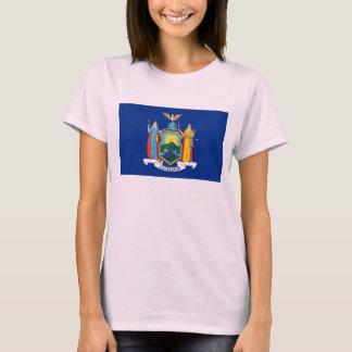 ニューヨーク州の旗 Tシャツ