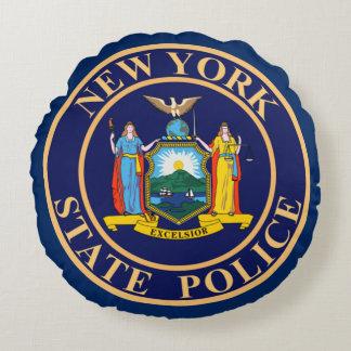 ニューヨーク州の警察 ラウンドクッション