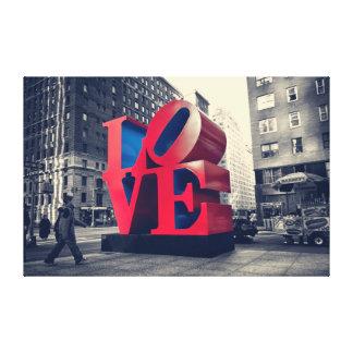 ニューヨーク愛 キャンバスプリント