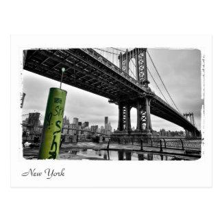 ニューヨーク橋 ポストカード