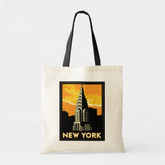 ニューヨーク米国米国のヴィンテージのレトロ旅行 トートバッグ