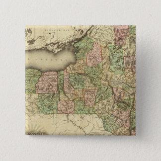 ニューヨーク33 5.1CM 正方形バッジ