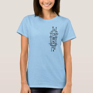 ニューヨーク585の市外局番 Tシャツ