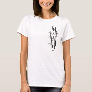 ニューヨーク631の市外局番 Tシャツ