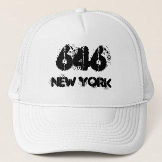 ニューヨーク646の市外局番 キャップ