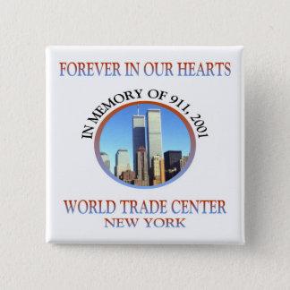 ニューヨーク911 缶バッジ