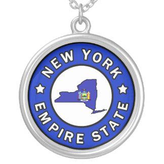 ニューヨーク シルバープレートネックレス