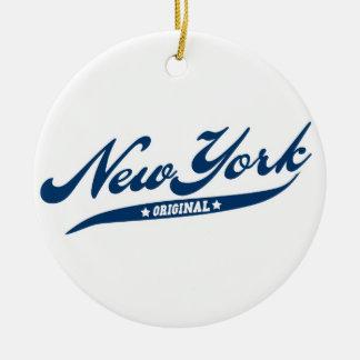 ニューヨーク セラミックオーナメント