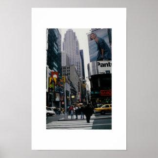 ニューヨーク・タイムズスクエア ポスター