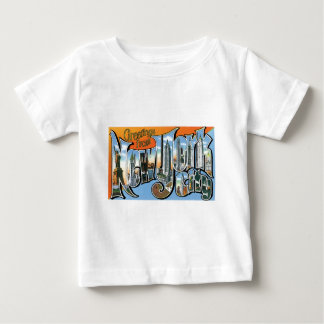ニューヨーク、ニューヨークからの挨拶! ベビーTシャツ
