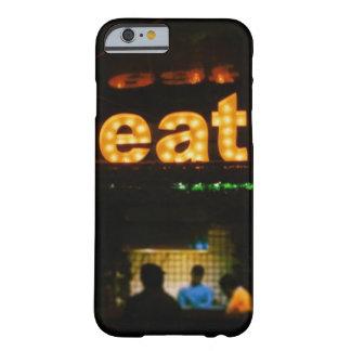 |ニューヨーク、ニューヨークを食べて下さい BARELY THERE iPhone 6 ケース