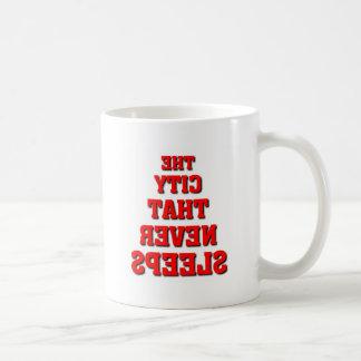 ニューヨーク、ニューヨーク コーヒーマグカップ