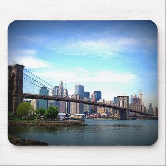 ニューヨーク-ブルックリン橋 マウスパッド