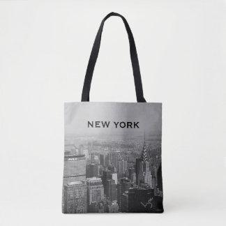 ニューヨーク、マンハッタンのカッコいい トートバッグ