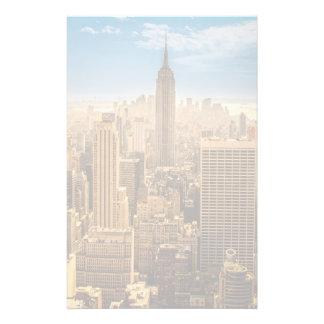 ニューヨーク 便箋