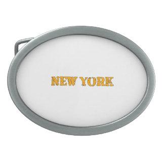 ニューヨーク 卵形バックル