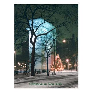 ニューヨーク(多数カードの割引)のクリスマス ポストカード